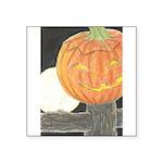 Jack-o-the-Moon Square Sticker 3
