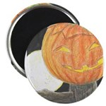 Jack-o-the-Moon Magnet