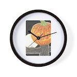 Jack-o-the-Moon Wall Clock