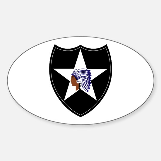 3rd Brigade, 2nd Infantry Division Sticker (Oval)
