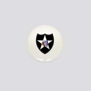3rd Brigade, 2nd Infantry Division Mini Button