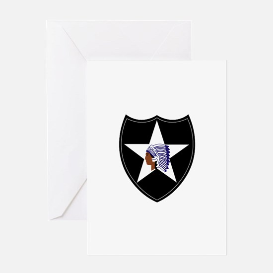 3rd Brigade, 2nd Infantry Division Greeting Card