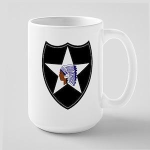 3rd Brigade, 2nd Infantry Division Large Mug