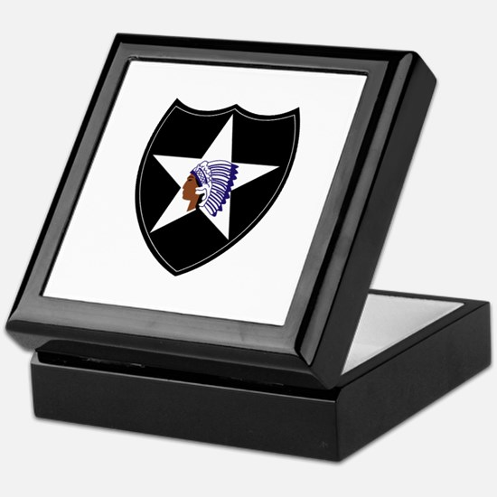 3rd Brigade, 2nd Infantry Division Keepsake Box