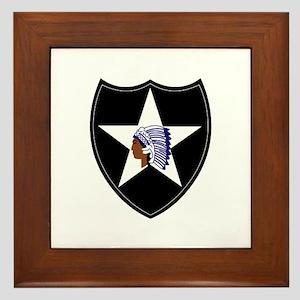 3rd Brigade, 2nd Infantry Division Framed Tile
