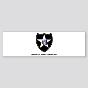 3rd Brigade, 2nd Infantry Division with Text Stick