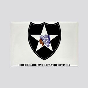 3rd Brigade, 2nd Infantry Division with Text Recta