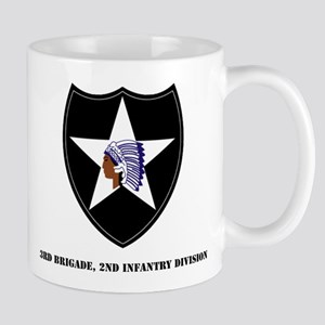 3rd Brigade, 2nd Infantry Division with Text Mug