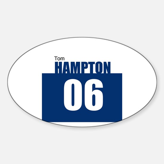 Hampton 06 Oval Decal