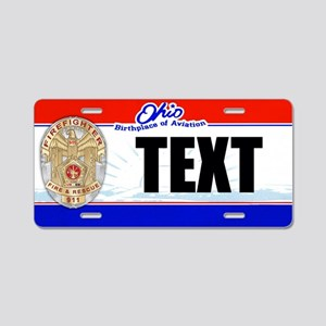 Ohio Firefighter Custom License Plate