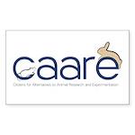 CAARE Logo Sticker (Rectangle 50 pk)