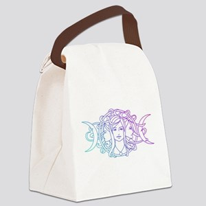 Triple Goddess Canvas Lunch Bag