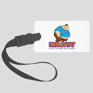Not Fat 02 Large Luggage Tag