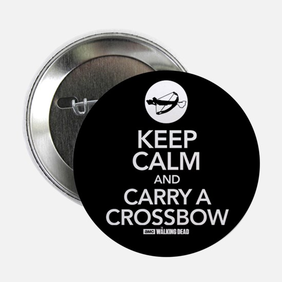 "Keep Calm Carry a Crossbow 2.25"" Button"