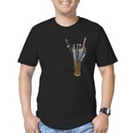 Swords in Stand Men's Fitted T-Shirt (dark)
