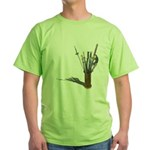 Swords in Stand Green T-Shirt