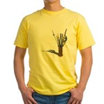 Swords in Stand Yellow T-Shirt