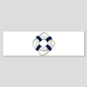 Blank Life Preserver Sticker (Bumper)
