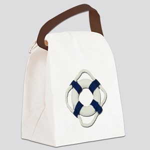 Blank Life Preserver Canvas Lunch Bag