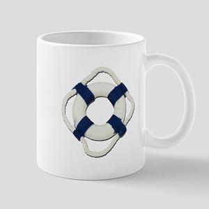 Blank Life Preserver Mug