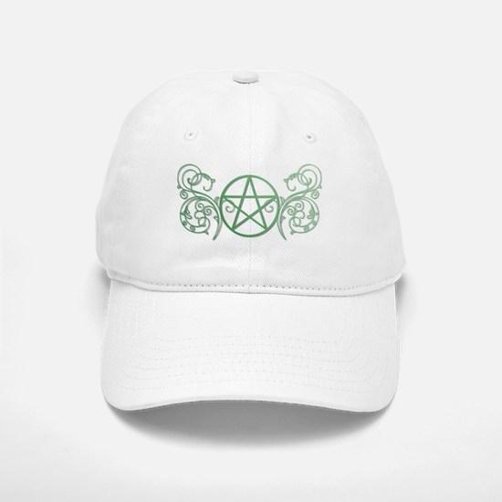 Pretty green pentacle Cap