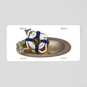 Life Preserver Brass Sink Aluminum License Plate