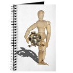 Holding Diving Helm Journal
