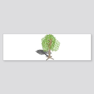 Climbing a Tree Sticker (Bumper)