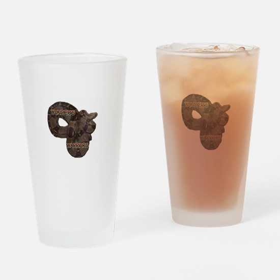 Wunder's Warriors Drinking Glass