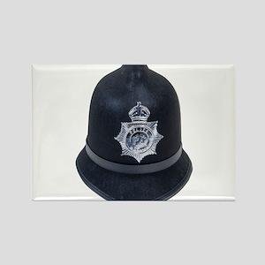Police Bobby Hat Rectangle Magnet