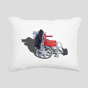 Houndstooth Jacket Wheelchair Rectangular Canvas P