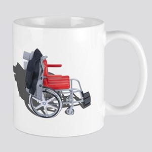 Houndstooth Jacket Wheelchair Mug