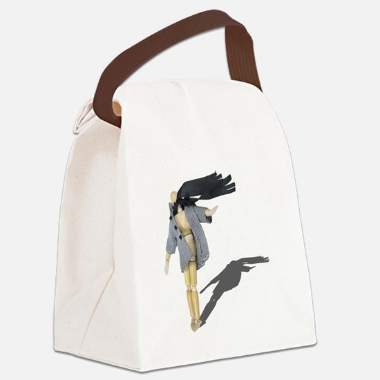 Windy Day Canvas Lunch Bag