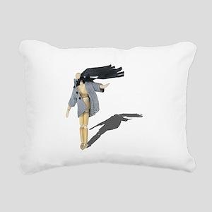 Windy Day Rectangular Canvas Pillow