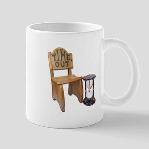 Timeout Chair Hourglass Mug