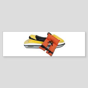 Life Vest Jet Ski Sticker (Bumper)