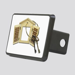 Shuttered Window Keys Rectangular Hitch Cover