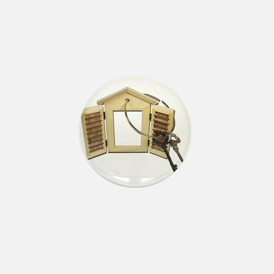 Shuttered Window Keys Mini Button
