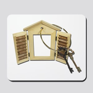 Shuttered Window Keys Mousepad