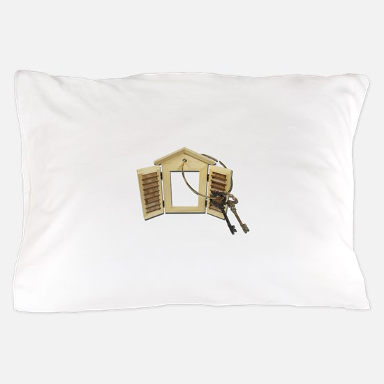 Shuttered Window Keys Pillow Case