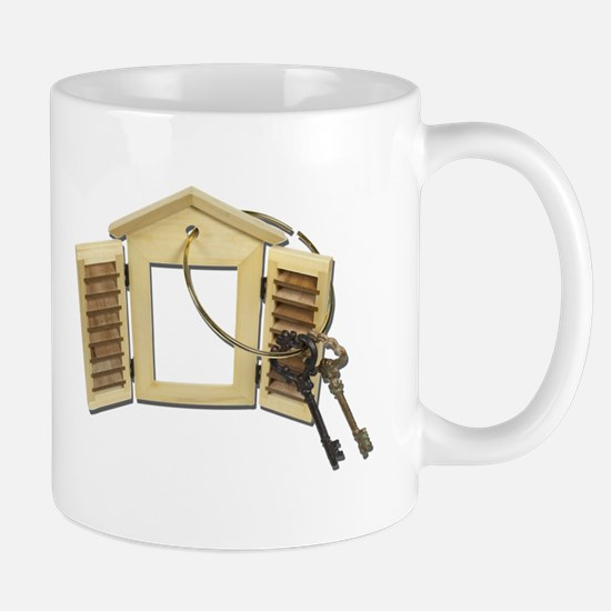 Shuttered Window Keys Mug