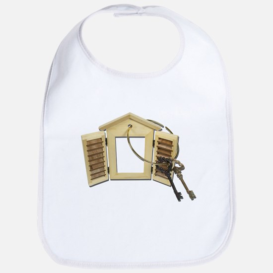 Shuttered Window Keys Bib