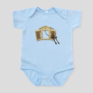 Shuttered Window Keys Infant Bodysuit