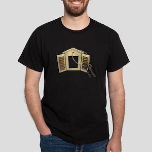 Shuttered Window Keys Dark T-Shirt