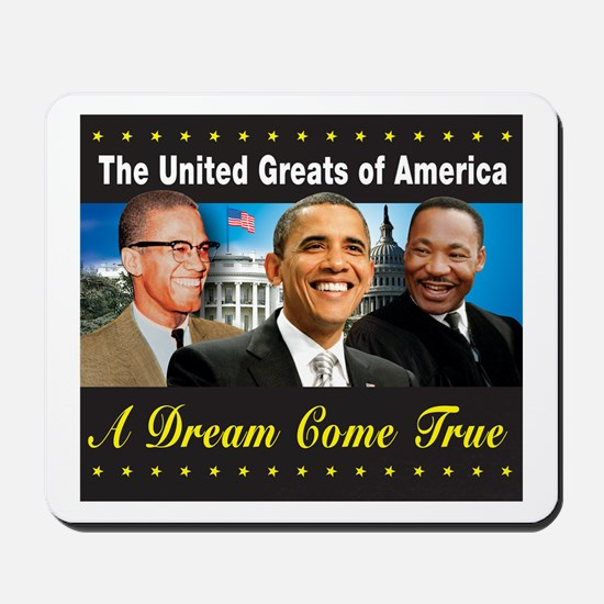 The United Greats Of America Mousepad