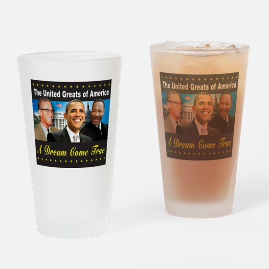 The United Greats Of America Drinking Glass