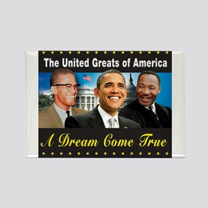 The United Greats Of America Rectangle Magnet