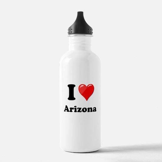 I Heart Love Arizona.png Water Bottle