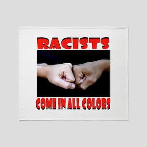 RACISTS Throw Blanket