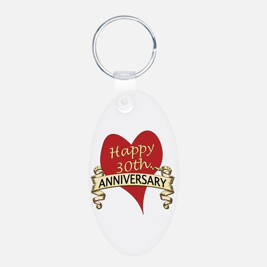 Cute 30th wedding anniversary Keychains